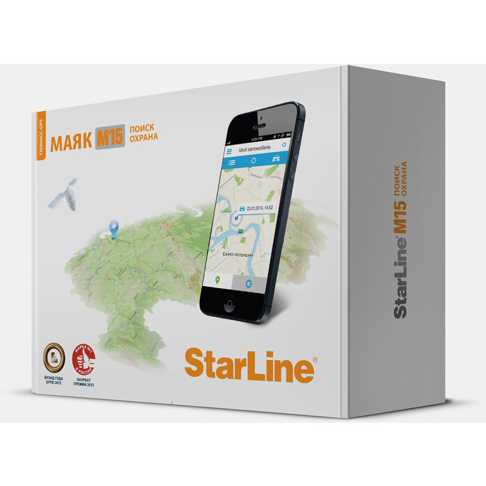 Автосигнализация StarLine M15 Глонасс- GPS (3sim)
