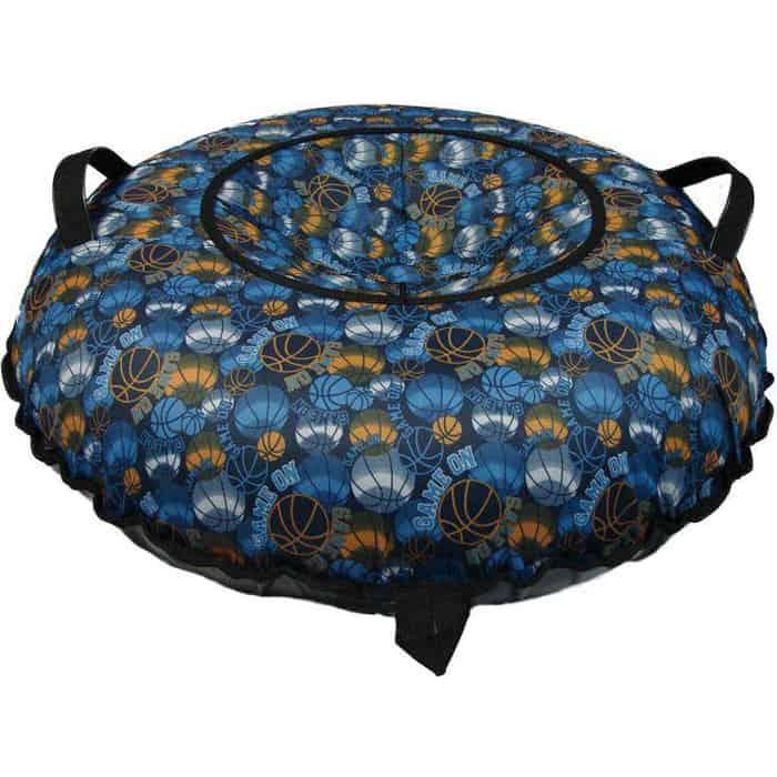 Тюбинг RT Oxford Принт Мячи на синем автокамера, диаметр 110 см