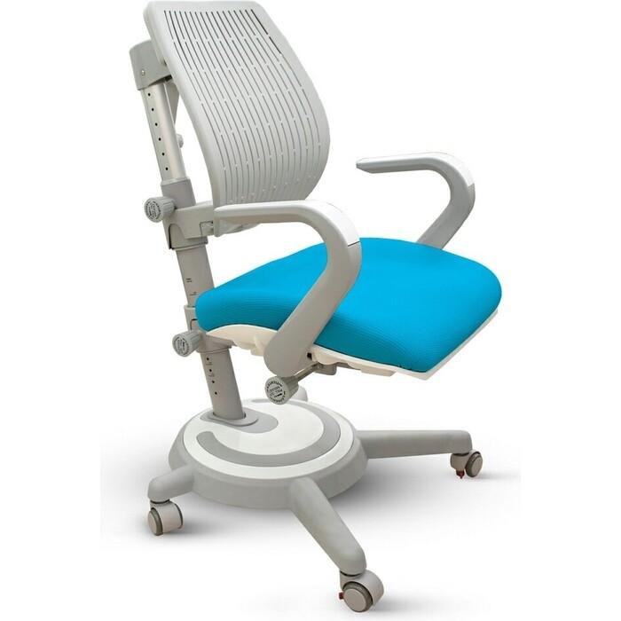 Кресло Mealux Ergoback BL Y-1020 KBL обивка голубая однотонная