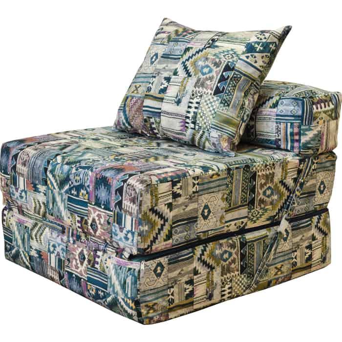 Кресло бескаркасное Mypuff Наска весна мебельная ткань kv-527-218
