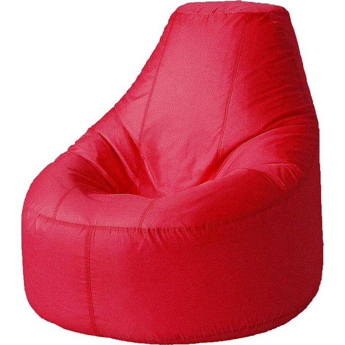 Кресло бескаркасное Mypuff Люкс красный оксфорд bn-025