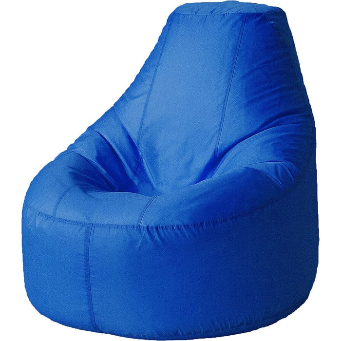 Кресло бескаркасное Mypuff Люкс василек оксфорд bn-171