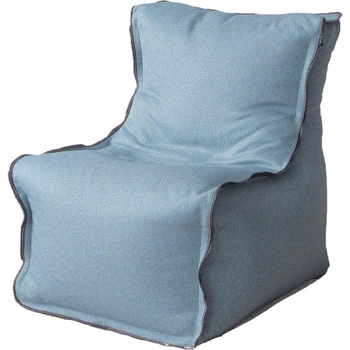Бескаркасное кресло Mypuff Лофт ментол жаккард-мальмо lf-438