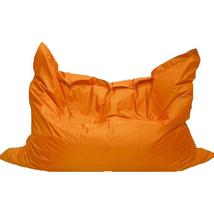 Кресло бескаркасное Mypuff Большая подушка Апельсин оксфорд bp-021