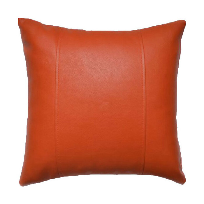 Декоративная подушка Mypuff Манго экокожа pil-058