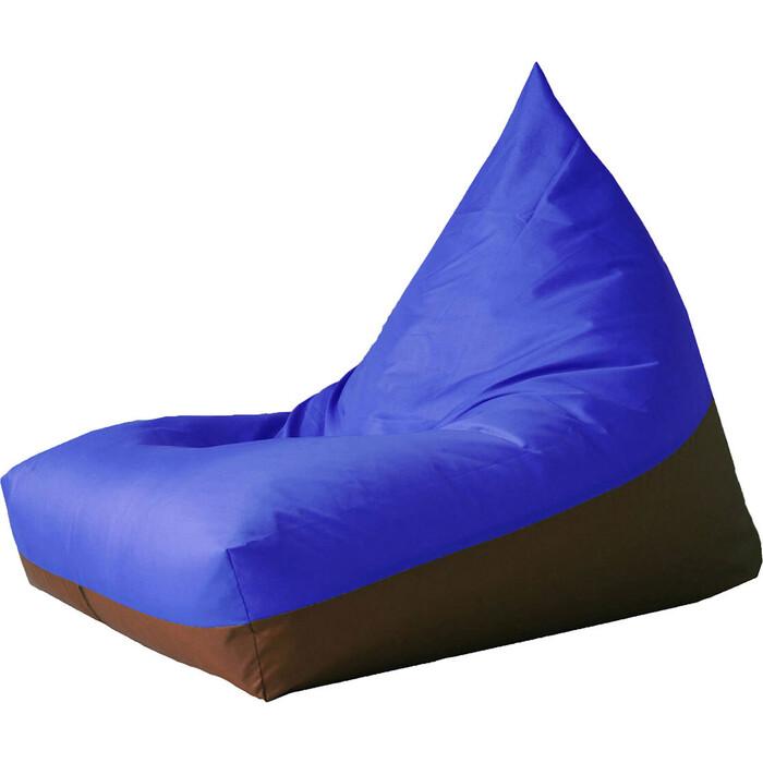 Кресло бескаркасное Mypuff Пирамида blues оксфорд h-022-171