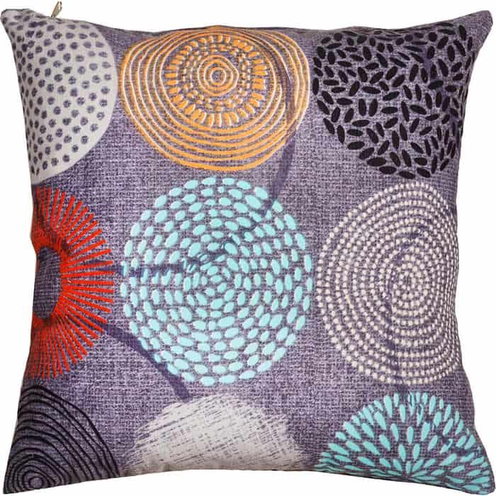 Декоративная подушка Mypuff Рингс мебельный хлопок pil-511