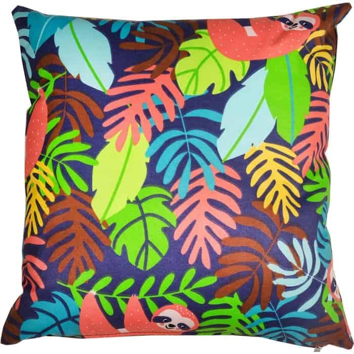 Декоративная подушка Mypuff Ленивцы мебельный хлопок pil-517