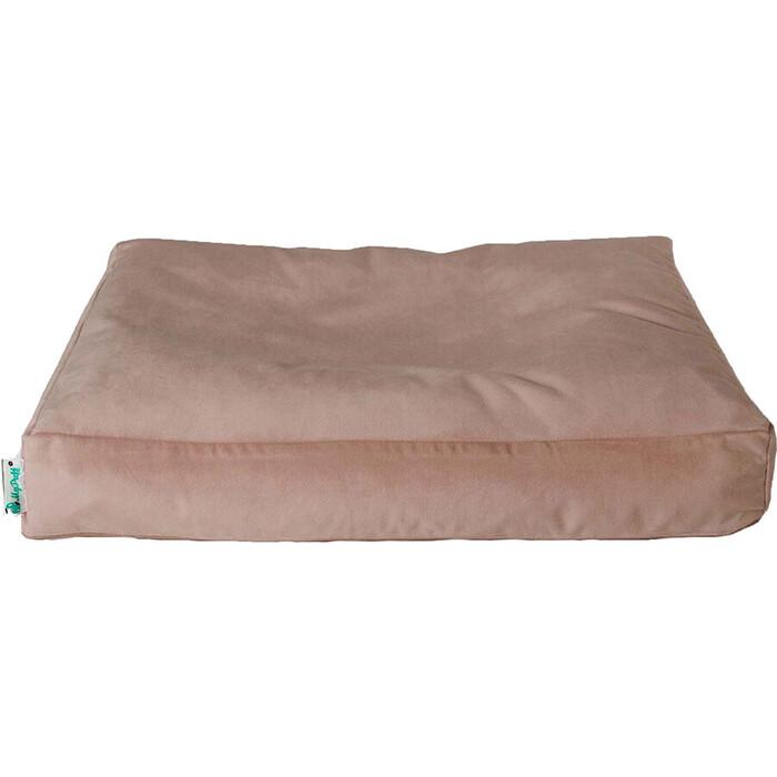 Лежак для собаки Mypuff Бежевый мебельная ткань 1p-474