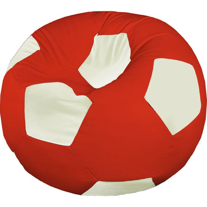 Кресло бескаркасное Mypuff Футбольный мяч Мидлсбро экокожа ball-055-056