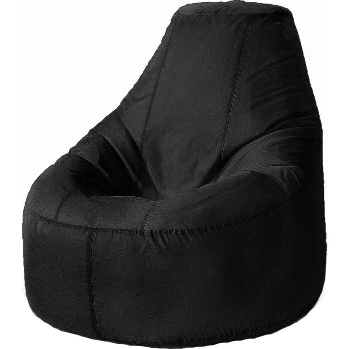 Кресло бескаркасное Mypuff Люкс черный оксфорд bn-020