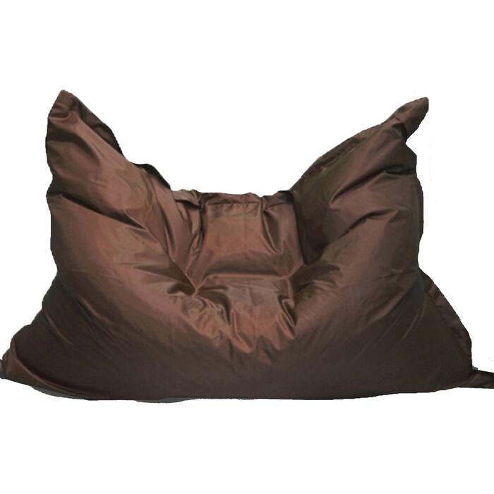 Кресло бескаркасное Mypuff Большая подушка шоколад оксфорд bp-022
