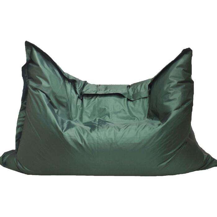 Кресло бескаркасное Mypuff Большая подушка темная зелень оксфорд bp-024