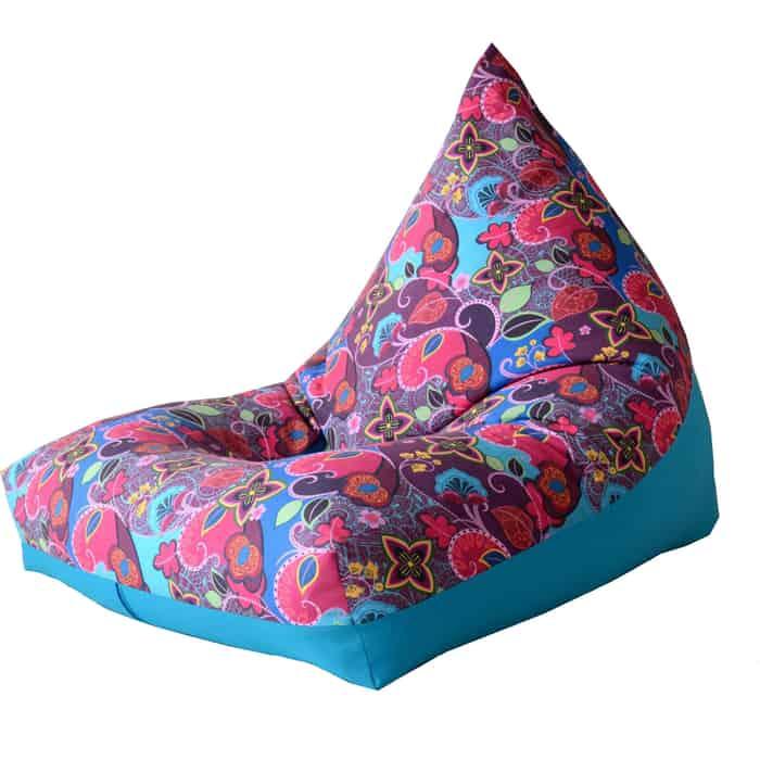 Кресло бескаркасное Mypuff Пирамида сказки Востока мебельный хлопок h-368-357