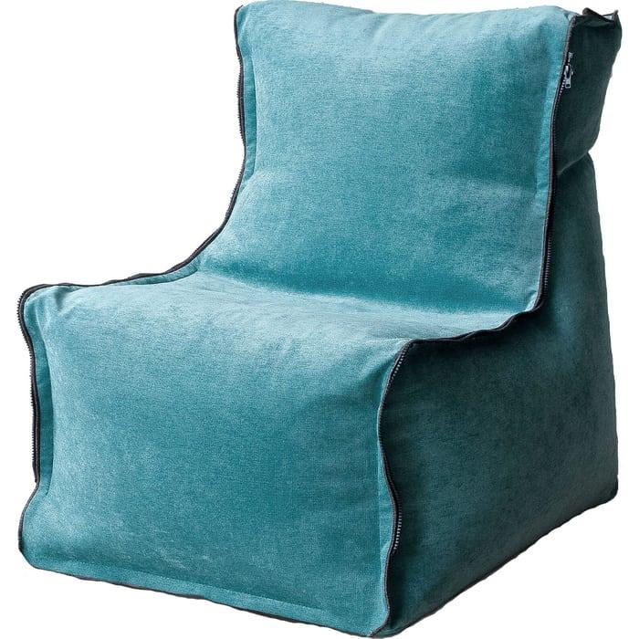 Бескаркасное кресло Mypuff Лофт-Элит ментол микровельвет lf-453