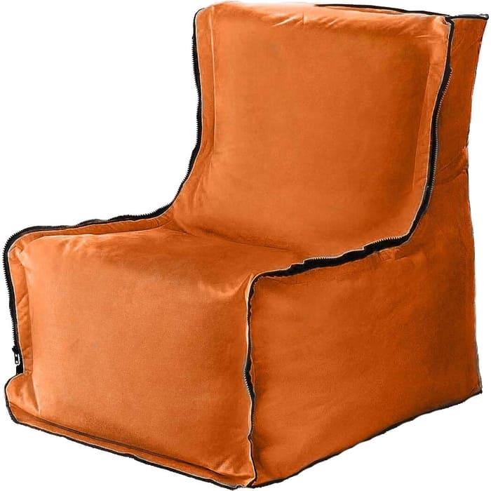 Кресло бескаркасное Mypuff Лофт лиса мебельный велюр lf-473