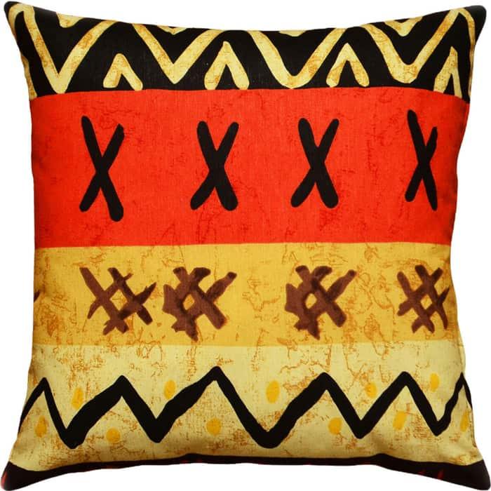 Декоративная подушка Mypuff Африка мебельный хлопок pil-048