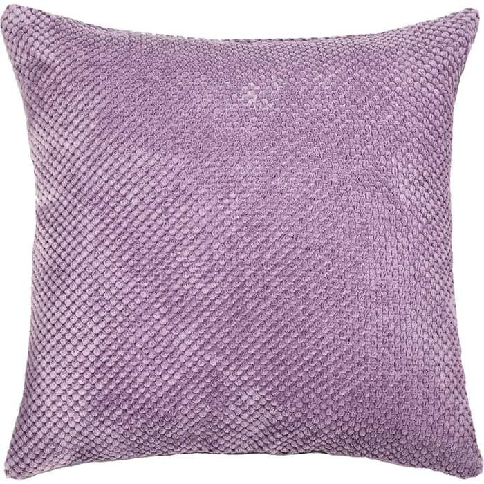 Декоративная подушка Mypuff Сирень объемный велюр pil-503