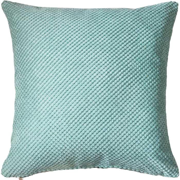 Декоративная подушка Mypuff Ментол объемный велюр pil-504