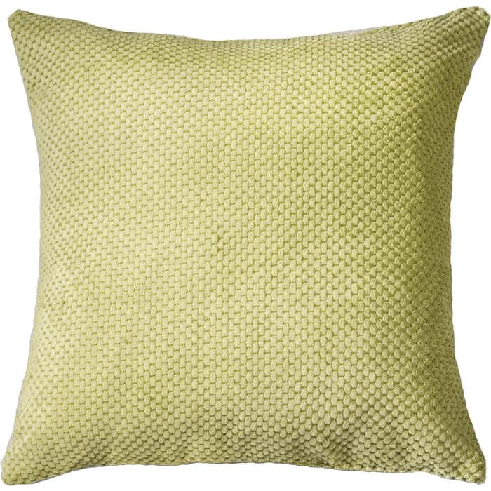 Декоративная подушка Mypuff Салатовая объемный велюр pil-505
