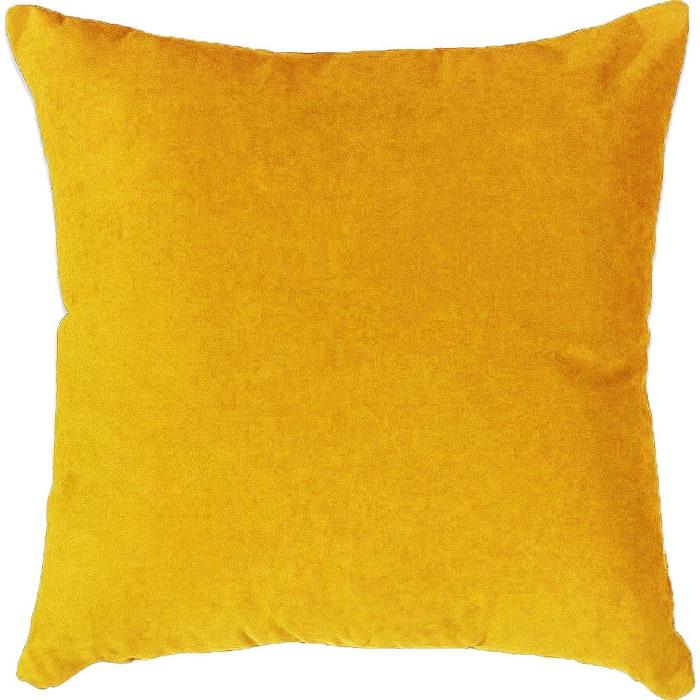 Декоративная подушка Mypuff Желтая мебельная ткань pil-535