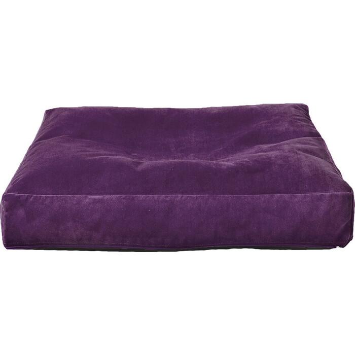 Лежак для собаки Mypuff Баклажан размер S мебельная ткань pp-467