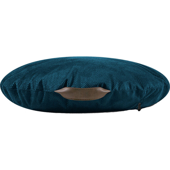 Подушка на пол Mypuff Сидушка морская глубина мебельный велюр тори si-545