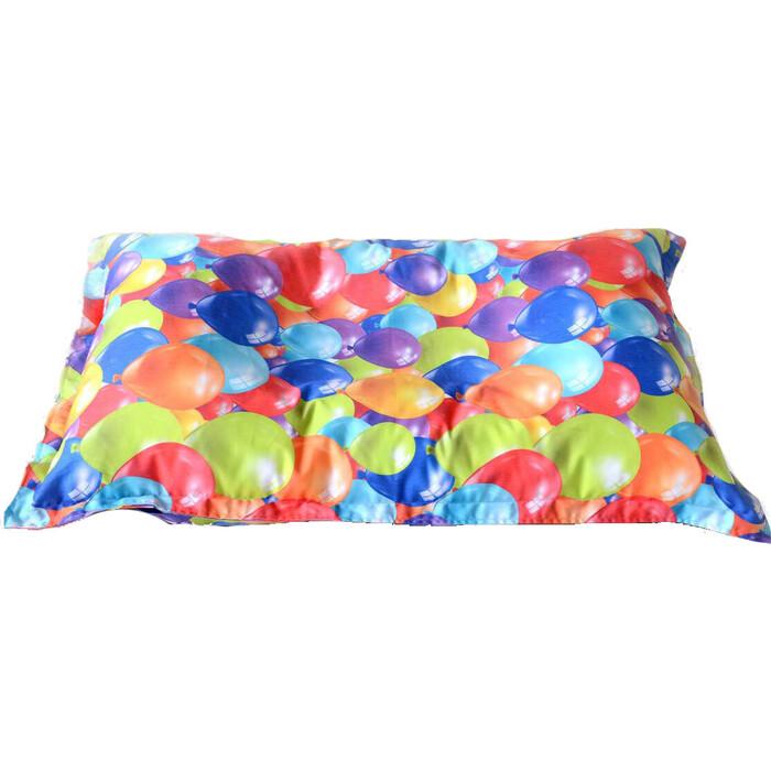Детский бескаркасный пуфик Mypuff Подушка воздушные шары мебельный хлопок sp-359