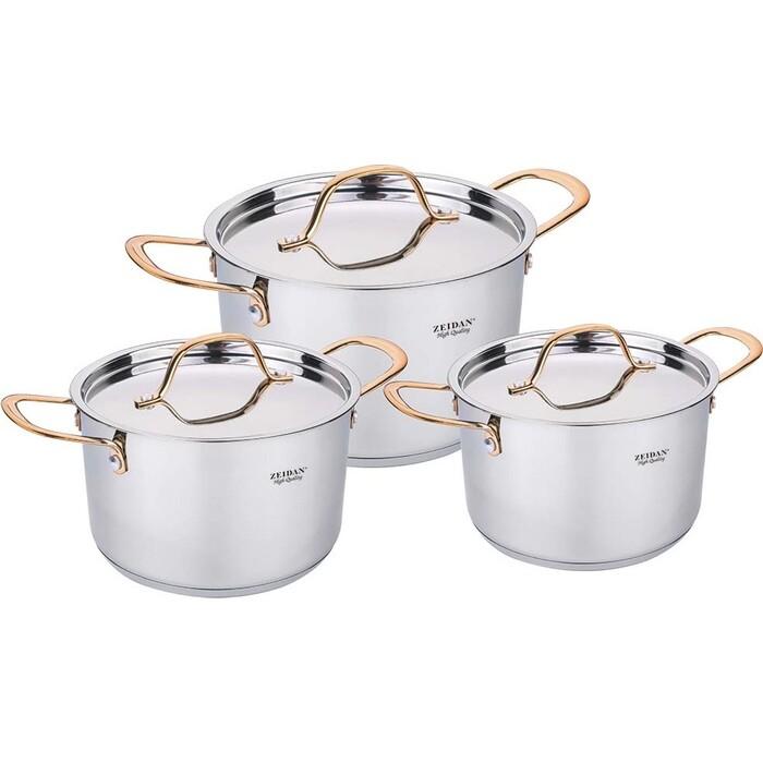 Набор посуды 6 предметов Zeidan (Z-50645) набор кухонных инструментов 7 предметов zeidan z 2060 классика