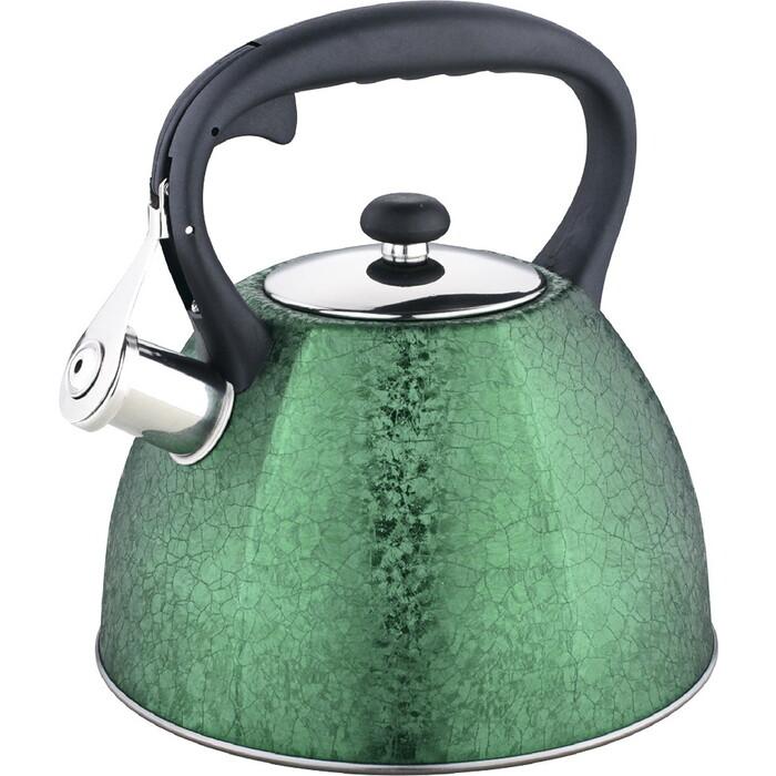 Чайник со свистком Zeidan 3.0 л (Z-4215 зеленый)