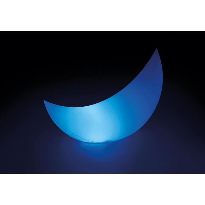 Надувной полумесяц Intex 68693 с Led подсветкой 135х43х89 см аккумулятором и зарядкой от USB