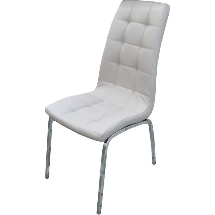 Кресло обеденное Garden story Лори каркас хром/сиденье бежевое W-120/1