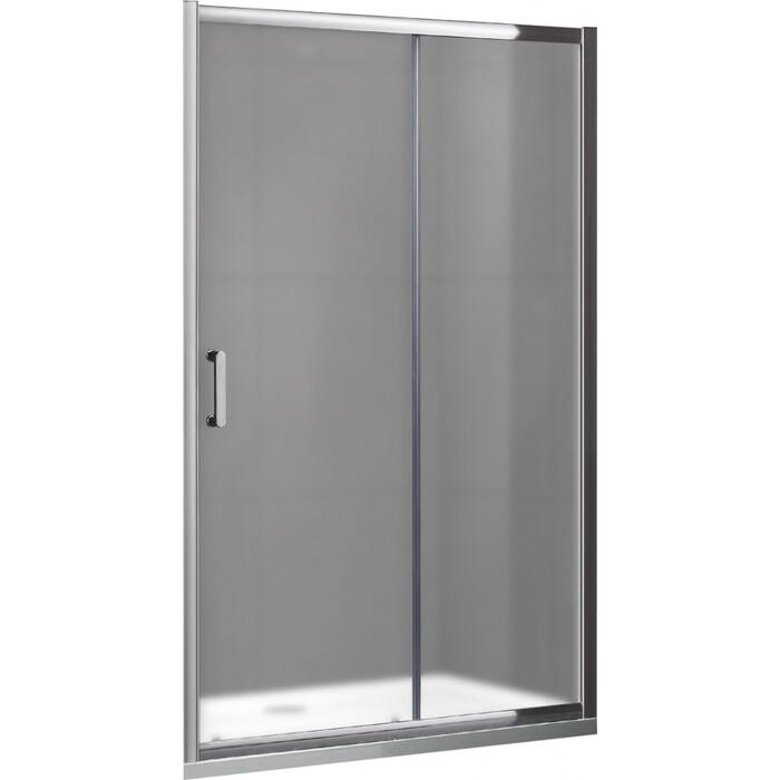Душевая дверь Gemy Victoria 100х190 стекло матовое, профиль хром (S30191HM)