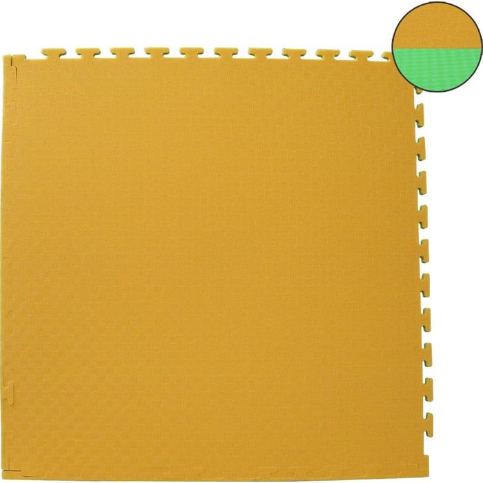 Будо-мат DFC ППЭ-2020 (1м*1м*0,02м) желто-зеленый