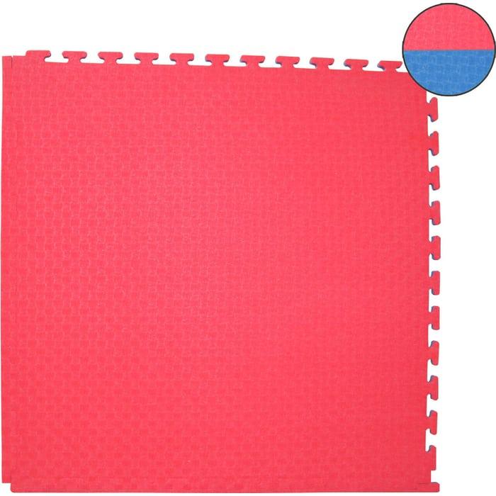 Будо-мат DFC ППЭ-2020 (1м*1м*0,02м) сине-красный