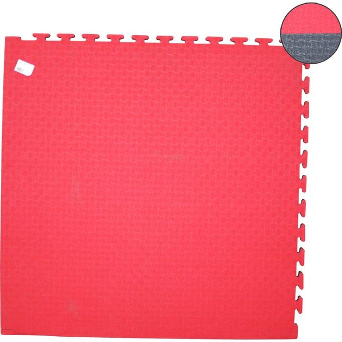 Будо-мат DFC ППЭ-2025 (1м*1м*0,025м) черно-красный