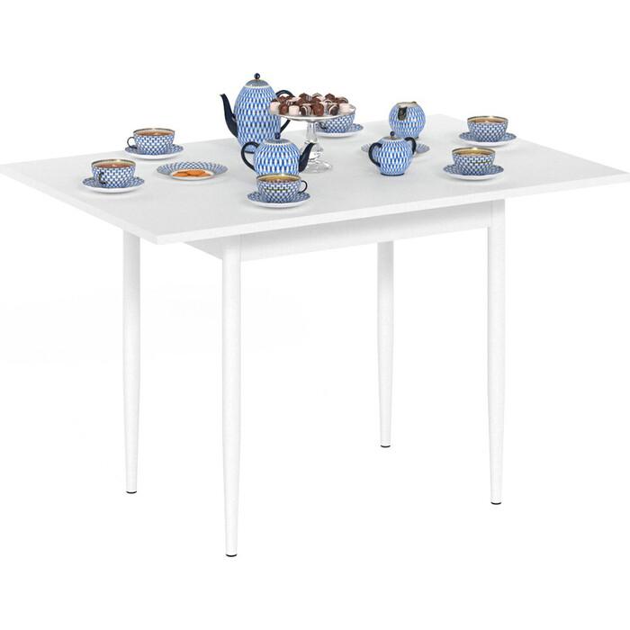 Стол обеденный Delice Пируэт белый