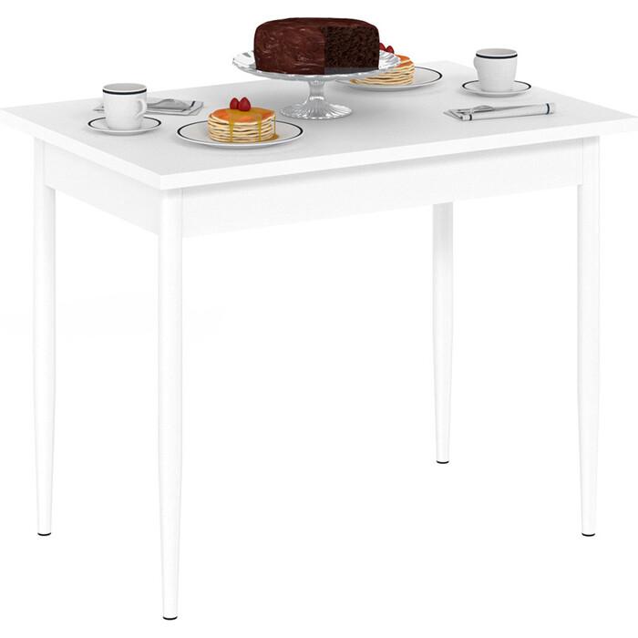 Стол обеденный Delice Темп белый