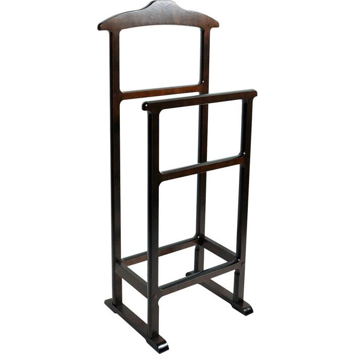Мебель-24 Вешалка напольная для одежды двойная венге