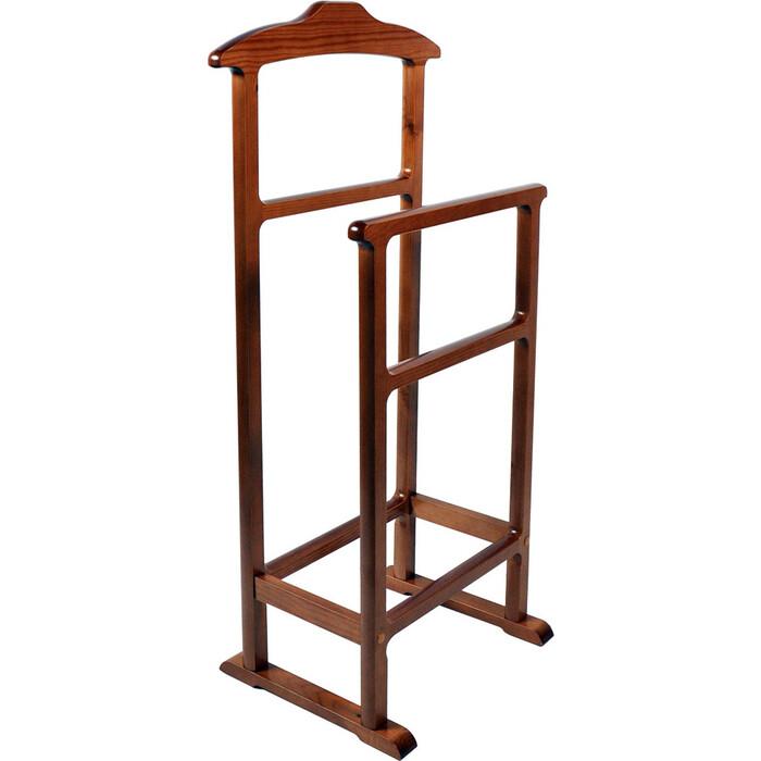 Мебель-24 Вешалка напольная для одежды двойная ольха