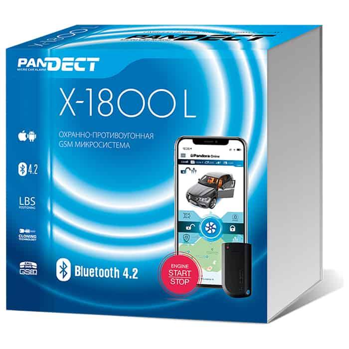 Фото - Автосигнализация Pandect X-1800L автосигнализация pandect x 1800 l