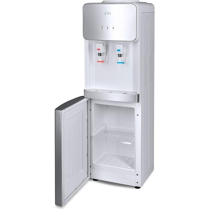 Кулер для воды напольный Ecotronic J21-LCE white+silver