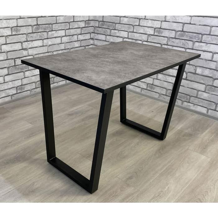 Стол Мир стульев Саен черный /бетон 809