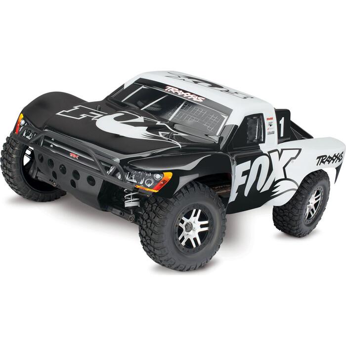 Радиоуправляемый шорт-корс трак TRAXXAS Slash 4x4 VXL TSM 4WD RTR масштаб 1/10 2.4G - TRA68086-4-FOX