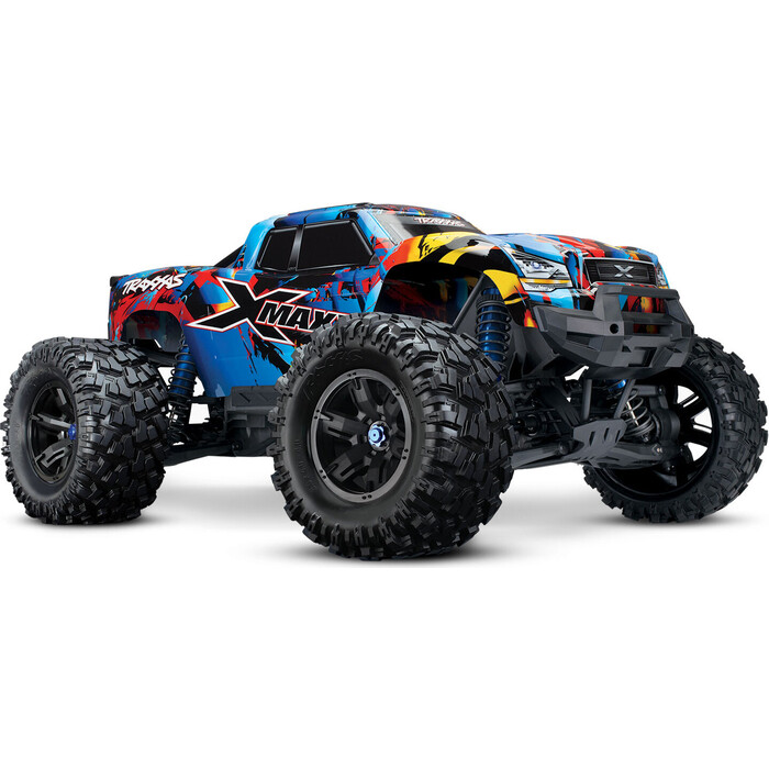 Радиоуправляемый монстр TRAXXAS X-MAXX 1/5 4WD 8S Brushless TQi Ready to Bluetooth Module TSM Orange - TRA77086-4-RNR