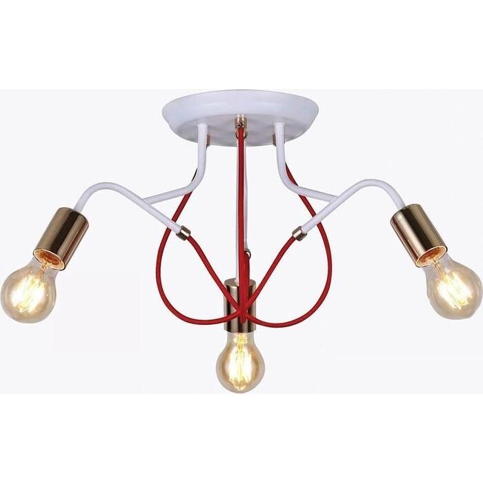 Люстра Hiper Потолочная Candella H001-3 потолочная люстра tk lighting 1915 nadia white 3