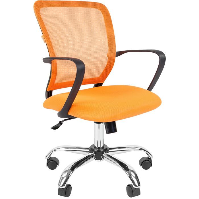 Офисноекресло Chairman 698 TW-66 оранжевый хром