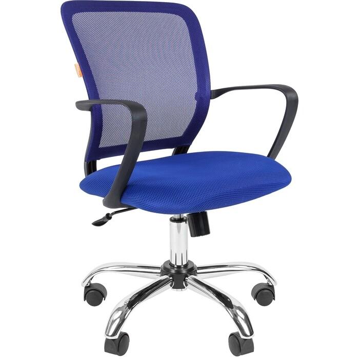 Офисноекресло Chairman 698 TW-05 синий хром