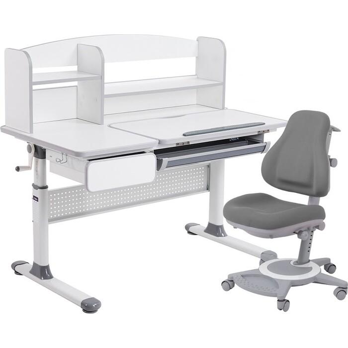 FunDesk Парта rimu grey + кресло bravo