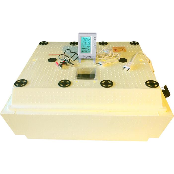 Инкубатор Золушка 2020, ЖК дисплей (98-220) авт. поворот, кур.-98, гус.-50 ячеек